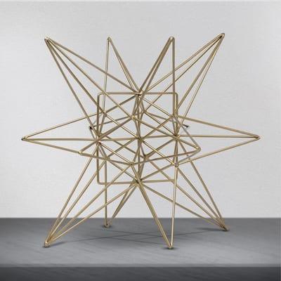 Metal Star Small Sculpture