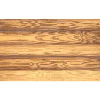 Thermo-treated 1/4 in. x 5 in. x 4 ft. Gold Barn Wood Wall Planks (10 sq. ft. per 6-Pack)