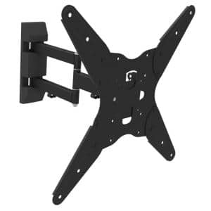 Full Motion Articulating Tilt/Swivel Universal Wall Mount for 17 in. - 55 in. TVs with HDMI Cable
