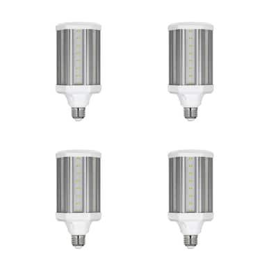 300-Watt Equivalent Corn Cob High Lumen Daylight (5000K) HID Utility LED Light Bulb (4-Pack)