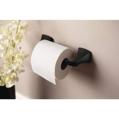 Voss Pivoting Double Post Toilet Paper Holder in Oil Rubbed Bronze