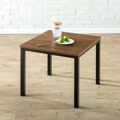 Dane Modern Studio Collection Soho End Table, Brown