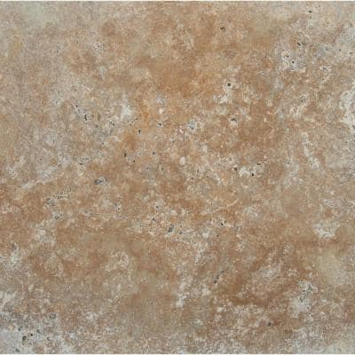 Riviera 16 in. x 16 in.Gold Travertine Paver Tile (60 Pieces/106.8 Sq. Ft./Pallet)