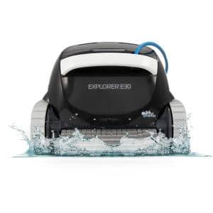 Explorer E30 Robotic Vacuum Pool Cleaner for In-Ground Swimming Pools up to 50 ft.