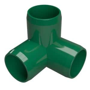 Formufit 1 1 4 In Furniture Grade Pvc 3 Way Elbow In Green 4 Pack F1143we Gr 4 The Home Depot