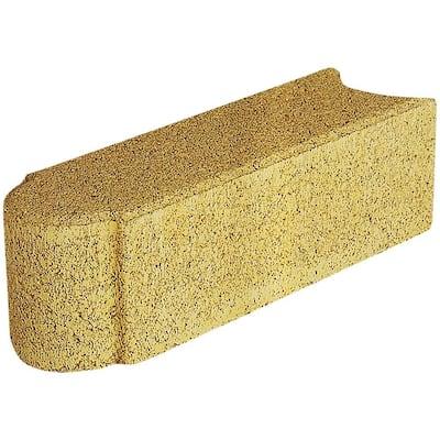 Edgestone 12 in. x 3.5 in. x 3.5 in. Buff Concrete Edger