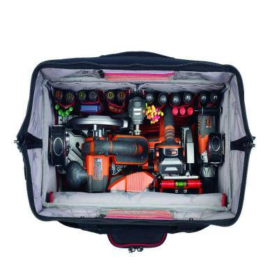 22 in. Pro Grade Rolling Tool Tote Bag