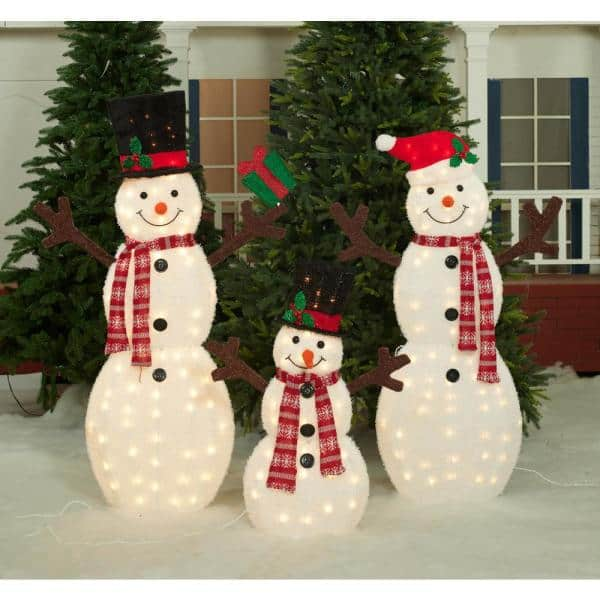 Snowman The Chill Of Winter Is Warmed By Family And Friends Christmas Holiday Sign 5x10