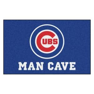 MLB - Chicago Cubs Man Cave UltiMat 5 ft. x 8 ft. Indoor Area Rug