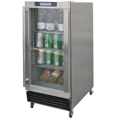 3.25 cu. ft. Built-In Outdoor Refrigerator in Stainless Steel