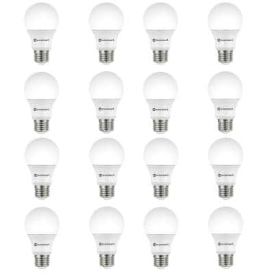 60-Watt Equivalent A19 Non-Dimmable CEC LED Light Bulb Soft White (16-Pack)