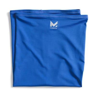 Blue Polyester Hydro Active Unisex Multi-Cooling Full Neck Gaiter