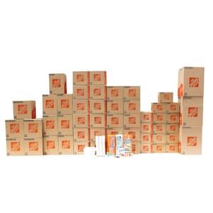 47-Box 2 Bedroom Moving Box Kit