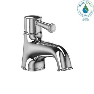Vivian Single Hole Single-Handle Bathroom Faucet in Polished Chrome