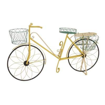 32 in. x 54 in. Vintage Bicycle Planter