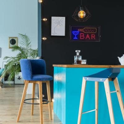 Neon LED Bar Sign with Animation