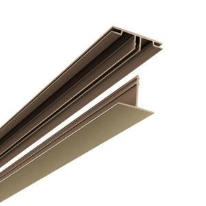100 sq. ft. Ceiling Grid Kit in Argent Bronze