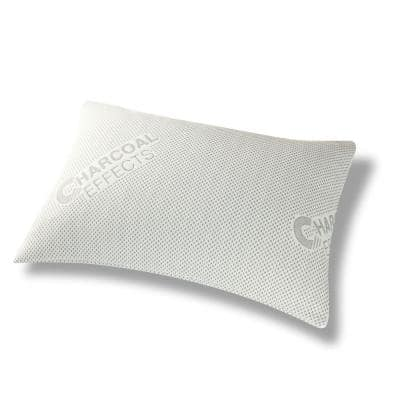 Charcoal Effects Odor Control and Cooling Sleep King Pillow