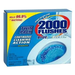 2.50 oz. Blue Plus Bleach Toilet Cleaner (2-Pack)