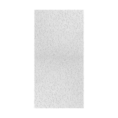 2 ft. x 4 ft. Fifth Avenue White Square Edge Lay-In Ceiling Tile, carton of 3 (24 sq. ft.)