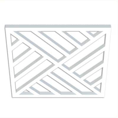 1-1/4 in. x 30 in. x 30 in. Providence Decorative Insert Chippendale Pattern 1 for 36 in. Overall Rail Height