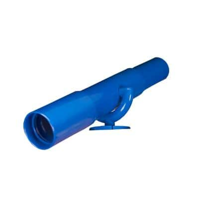 Blue Play Telescope with Mounting Bracket