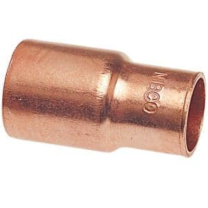 1-1/4 in. x 3/4 in. Copper Pressure Fitting x Cup Reducer