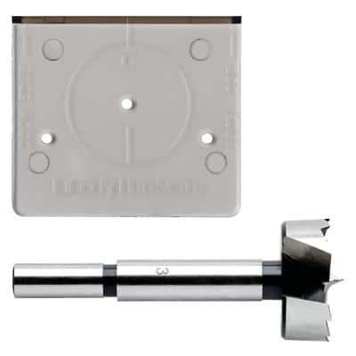 Align Right 35 mm (1-3/8 in.) Cabinet Hinge Installation Template