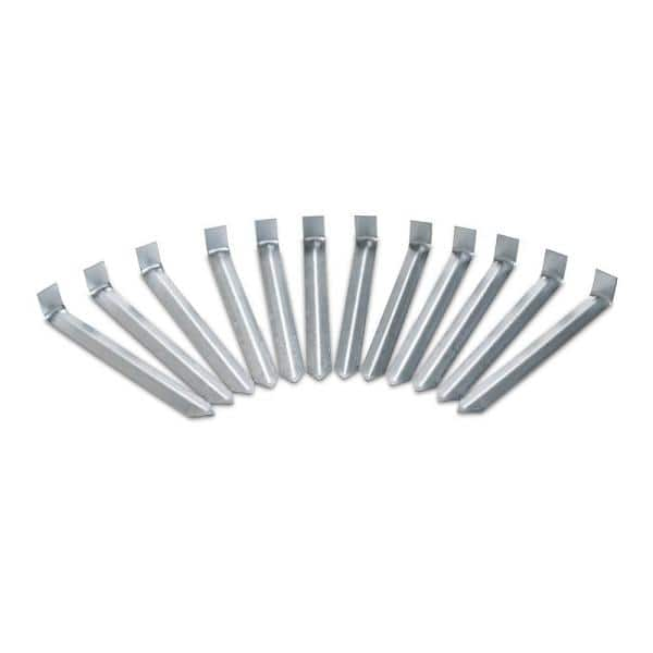 Vigoro 9 5 In Metal Stake Pack 12 Count 1900 12hd 12 The Home Depot