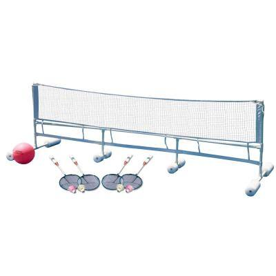 Floating Water Volleyball and Badminton Super Combo Pool Game