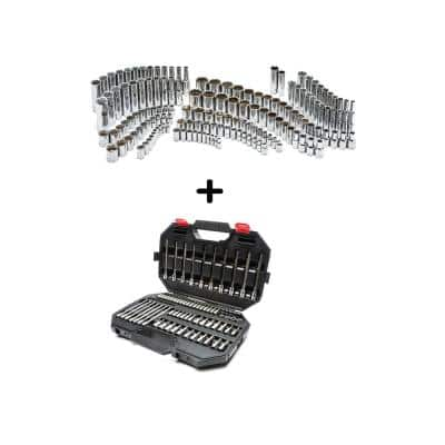 Master Socket and Bit Socket Set (268-Piece)