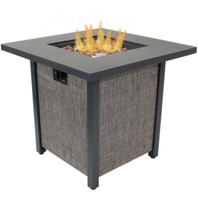 Kleifar Outdoor Propane Gas Fire Pit- 25.25 Inches Tall