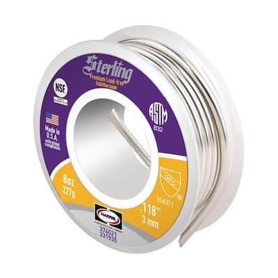 Sterling 8 oz. Premium Lead Free Solder