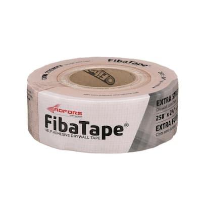 FibaTape Extra-Strength 2-3/8 in. x 250 ft. Self-Adhesive Mesh Drywall Joint Tape