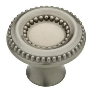 Taryn 1-3/8 in. (35 mm) Satin Nickel Round Cabinet Knob