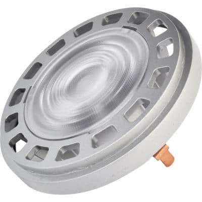 50-Watt Equivalent 11-Watt PAR36 AR111 Dimmable LED Flood 32 Degree 12V Light Bulb MP Terminal Warm White 2700K 81097