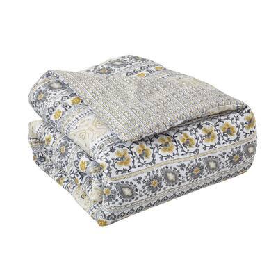 Chloe Yellow 7-Piece Comforter Set