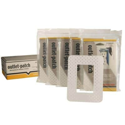 4-3/4 in. x 6-1/4 in. Drywall Repair Outlet Patch