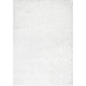 Marleen Plush Shag White 11 ft. x 14 ft. Area Rug