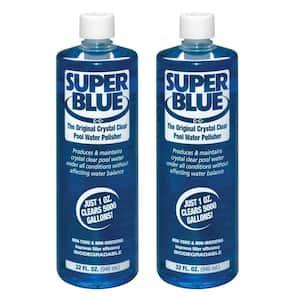 1 Qt. Super Blue Water Clarifier (2-Pack)