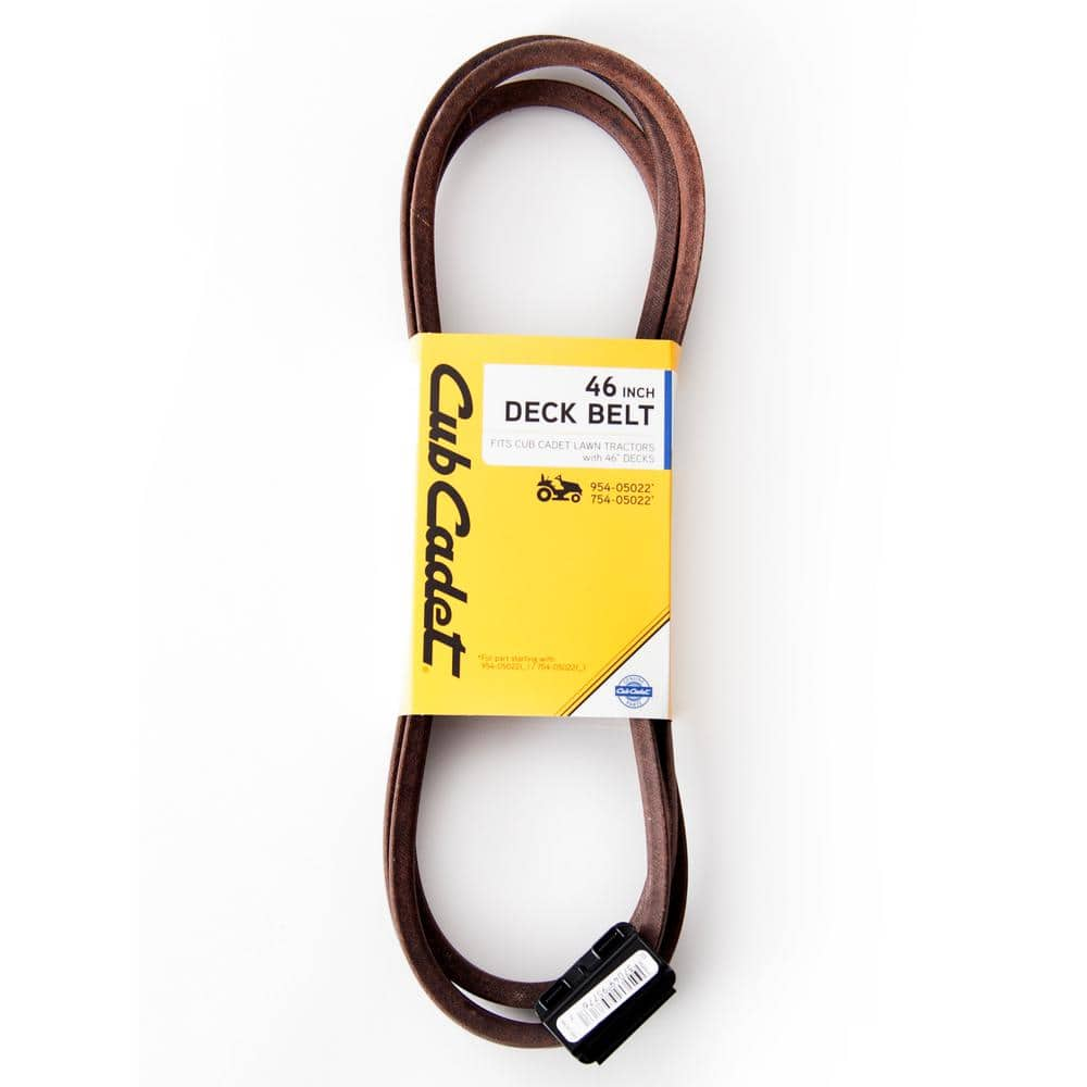 Cub Cadet Original Equipment Deck Drive Belt for Select 46 in. Front Engine Riding Lawn Mowers OE# 954-05022