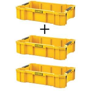 TOUGHSYSTEM 2.0 Deep Tool Tray with (2) TOUGHSYSTEM 2.0 Deep Tool Trays