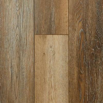 Golden Larch Oak 7.13 in. W x 48.03 in. L Waterproof High Traffic Luxury Vinyl Plank Flooring (19.05 sq. ft./case)