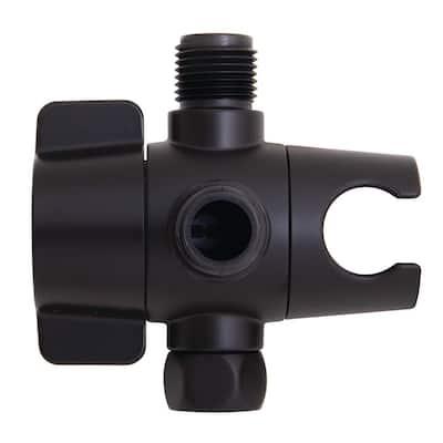 Neo Shower Diverter in Matte Black