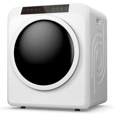 3.3 cu. ft. 120-Volt White Electric Compact Portable Dryer 13.2 lbs. Capacity