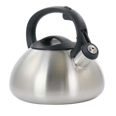 Harpwell 1.8 qt. Stainless Steel Whistling Tea Kettle