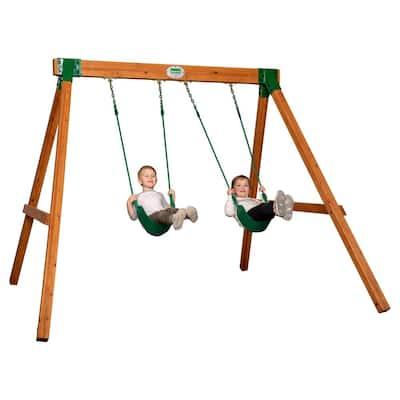 Heavy Duty Durango Wooden Swing Set