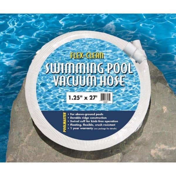 Poolmaster Basic 27 Ft 1 1 4 In Swimming Pool Vacuum Hose 32227 The Home Depot