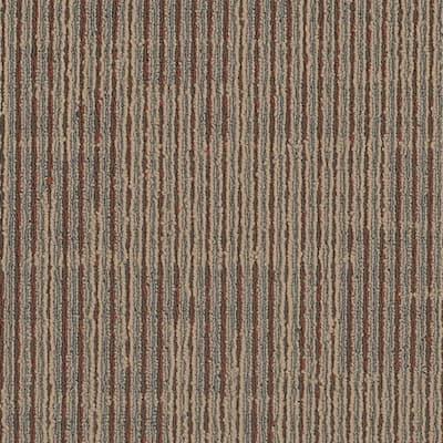 Zander Bustle Loop 24 in. x 24 in. Carpet Tile (18 Tiles/Case)