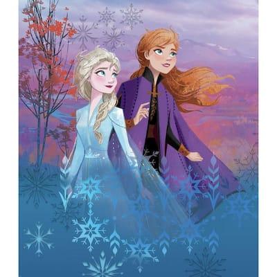 Multi-Colored Disney Frozen Ii Destiny Awaits Tapestry